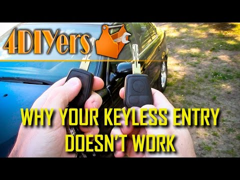 5 Reasons Why a Keyless Remote Does Not Work