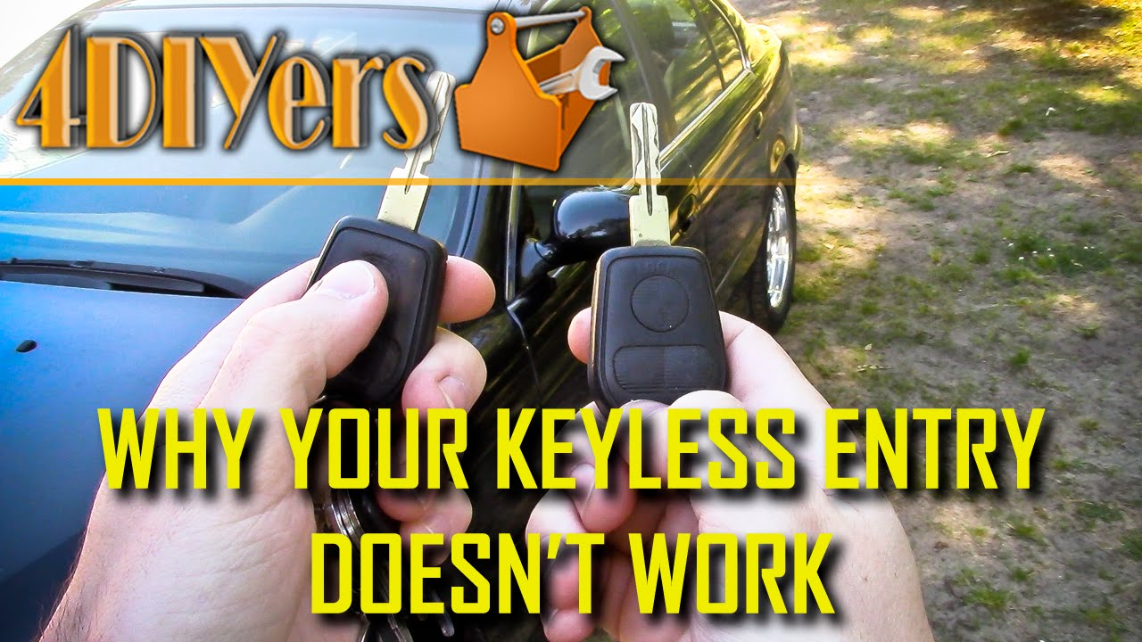 5 Reasons Why A Keyless Remote Does Not Work Youtube Cadillac Escalade Fuse Box