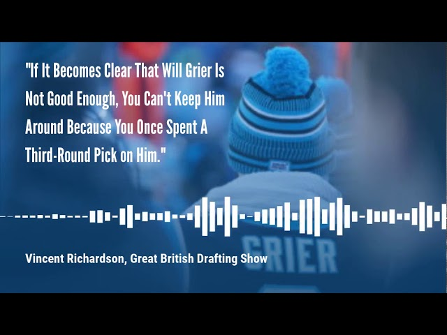 The Great British Drafting Show On Moving On From Will Grier