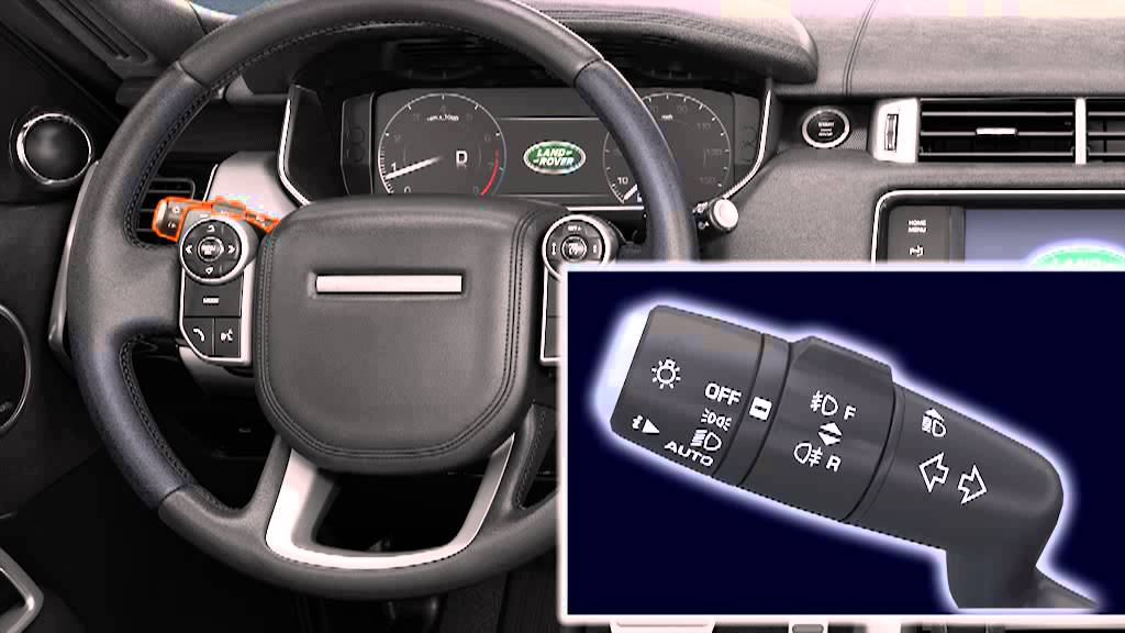How to use auto lamps & high beam assist - Range Rover Sport (2013)