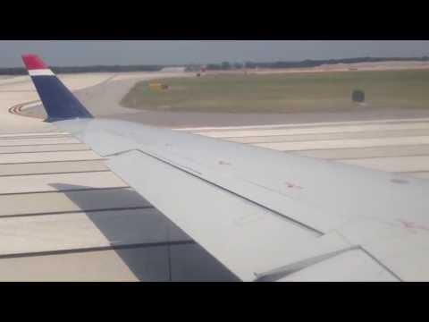 US Airways Express CRJ 200 Takeoff