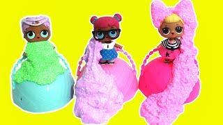 LOL Bebeklerle Sadece 2 Malzemeli Slime Challenge! Tutkalsız İnstagram Slime - Bidünya Oyuncak