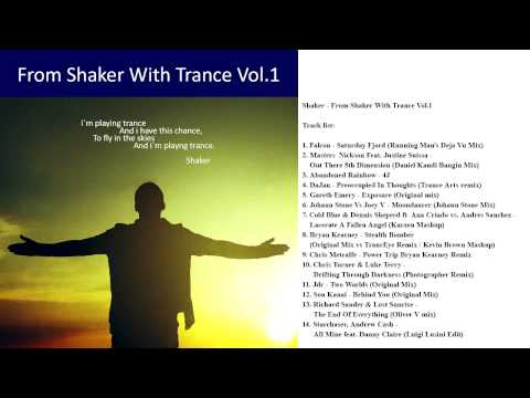 From Shaker With Trance Vol.1