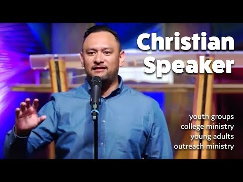 Top Christian Youth Speakers I Christian Speakers - Rob Pene