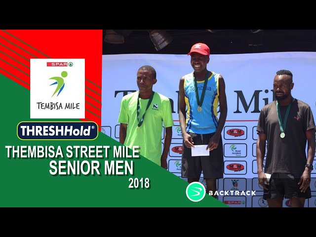 2018 Senior Men Tembisa Streetmile
