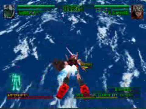 Gundam Char S Counterattack Ps Gameplay Youtube