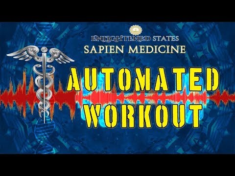 Automated Workout System (energetic and morphic programming in audio)