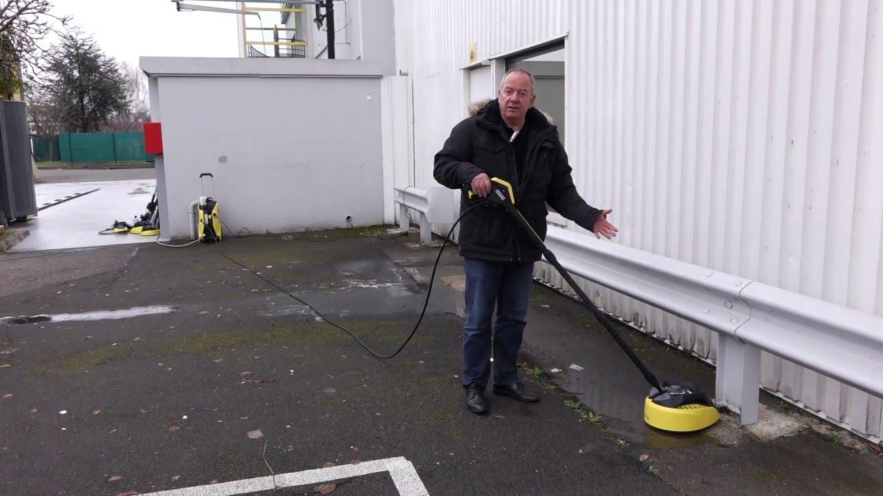 karcher utilisation d 39 un t racer pour nettoyer une
