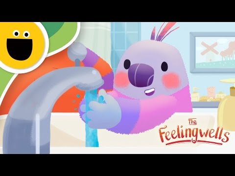 How to Wash Your Hands | The Feelingwells  (Sesame Studios)