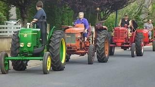 Randonnée Tracteurs anciens  AVMM  mai 2018