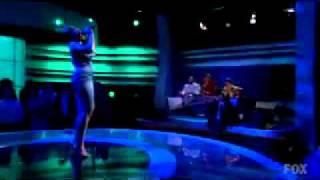 Fantasia Barrino singing I'm Here on American Idol Season-6 (2007)