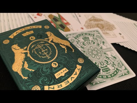 Tavern On The Green Playing Cards - Theory 11 - Deck Review!