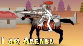 I am Archer! Сложные уровни! Clone stickman! Атака стикменов