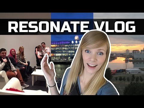 Resonate Festival 2016   Gaming Convention Vlog