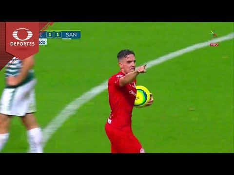 Gol de Hauche   Toluca 1-1 Santos   Final - Clausura 2018   Televisa Deportes