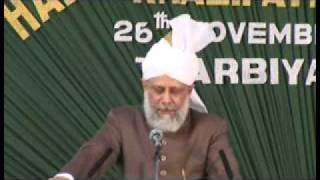 Ahmadiyya: Huzoor addresses Lajna at Calicut Kerala, India 2008 (4/4)