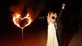 Фаер-шоу на свадьбу в Самаре от театра