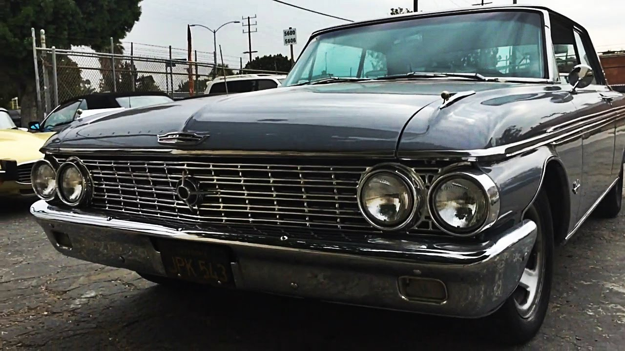 Best Way To Clean Car Seats >> 1962 Ford Galaxie 500 XL restoration interior - YouTube