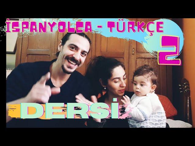 Bizimle ispanyolca-türkçe dersi 2