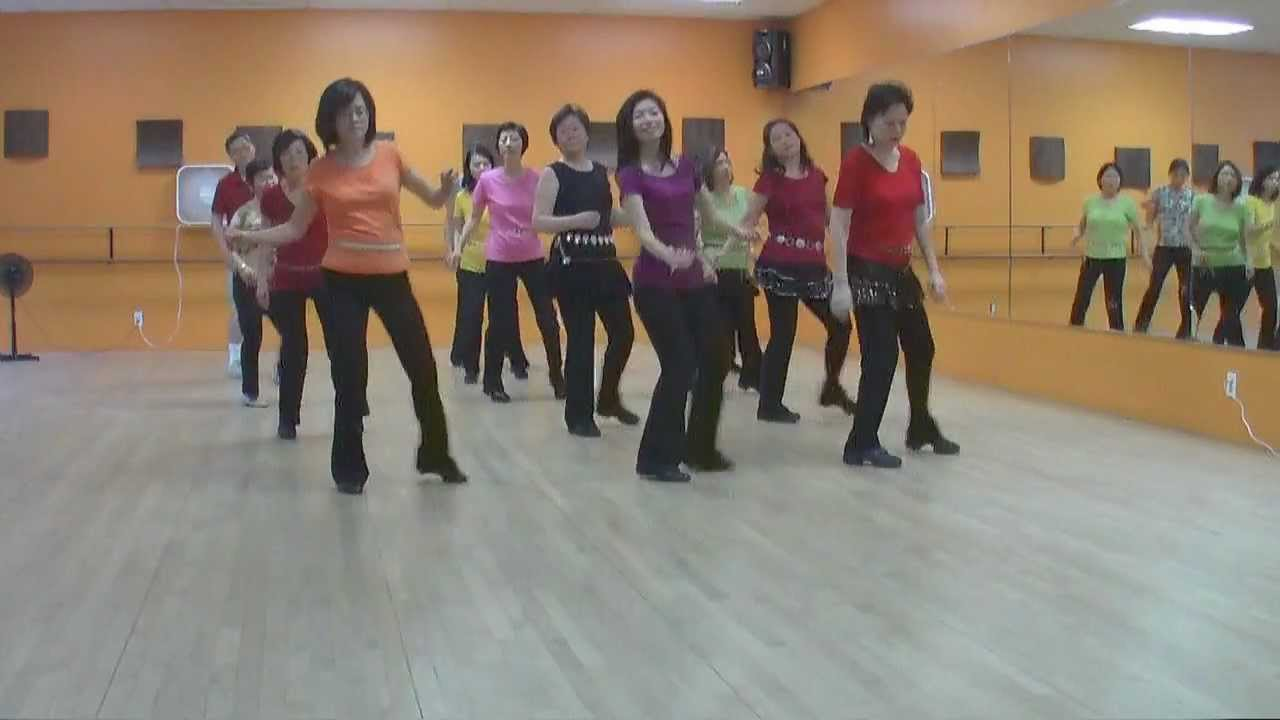 Back It Up - Line Dance (Dance & Teach in English & 中文) - YouTube