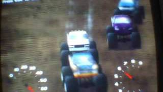 Monster Truck Madness 2 big crash