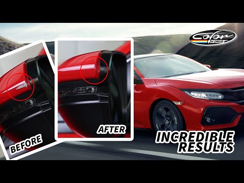 Incredible Results – Color N Drive  Honda Civic – Car Paint Chip Repair