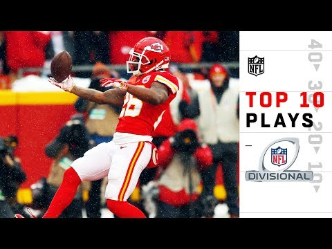 Top 10 Plays from Divisional Weekend | 2018 NFL Playoffs