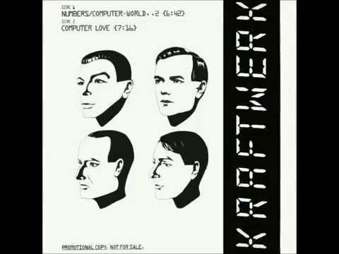 Kraftwerk  Numbers 12Inch Promo 1981