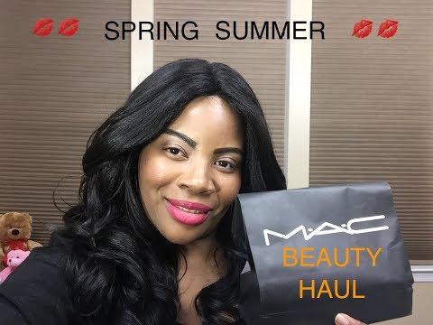 SPRING | SUMMER BEAUTY HAUL MAC, KATE SPADE, BENEFITS COSMETICS 💄