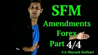 CA Final SFM - Forex Amendment Part 4/4-Extension of Forward Contract