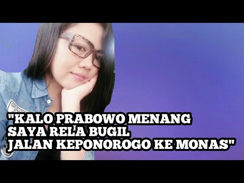 VIRALKAN!!! Kalau Prabowo Menang,saya Rela Bugil,jalan Ke Ponorogo Sampe Monas