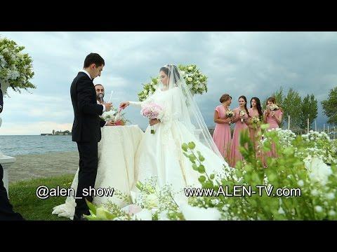 Шикарная Свадьба в Армении Ведущий Ален Сафарян