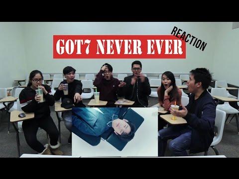 [APRICITY] GOT7 - NEVER EVER MV Reaction Video