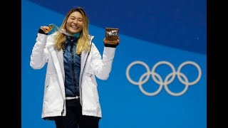 Chloe Kim doesn't forget