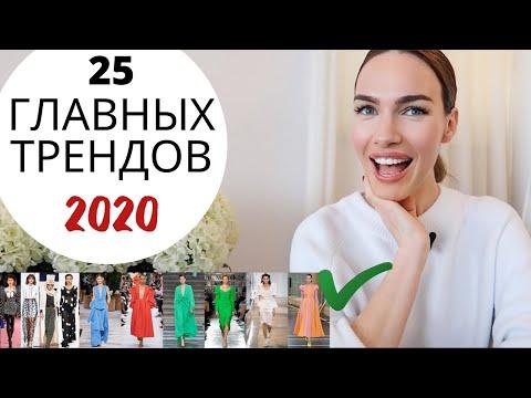 ТРЕНДЫ 2020 ! ТОП самых модных тенденций  ВЕСНА ЛЕТО 2020