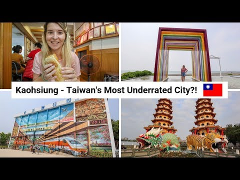 BEST THINGS TO DO IN KAOHSIUNG! Taiwan's Most Underrated City?! | Kaohsiung Vlog