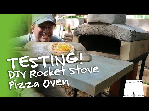 How To Make A Rocket Stove Pizza Oven | Part 3