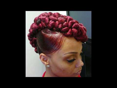 Top 20 Mohawk Hairstyles For Black Women A Must See Youtube