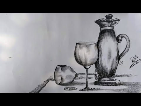 Still life-still life drawing for kids step by step by