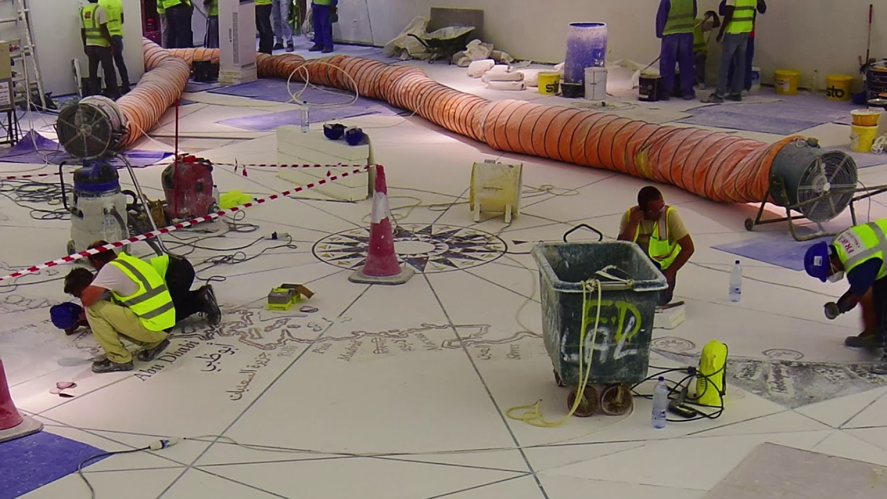 Louvre Abu Dhabi Terrazzo Floors By Fribel