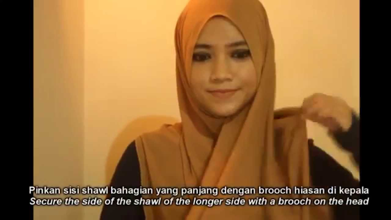 2 Minutes Simple Everyday Hijab Style Youtube Ni