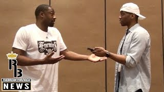 "Gilbert Arenas ADDRESSES VINCE CARTER SITUATION With RBTheBreakThrough! ""I'm NOT HATING!"" (Part 1)"