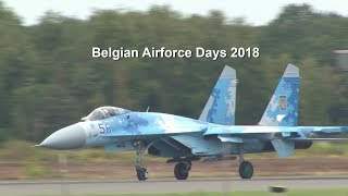 Highlights Belgian Airforce Days 2018