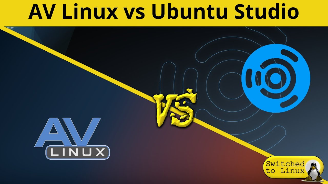 AV Linux vs Ubuntu Studio | DistroWars