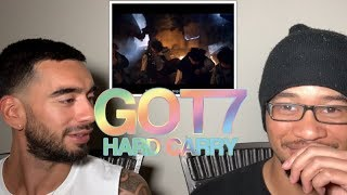 NON-KPOP FAN REACTS TO GOT7 HARD CARRY Video