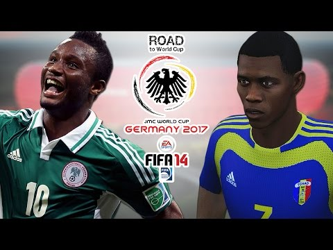 Nigeria vs. Chad | CAF | Road To World Cup Germany 2017 | FIFA 14