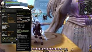 Dragon Nest INA Dark Avenger Equipment + Skill Build Review