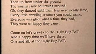 "Burl Ives KARAOKE - ""Ugly Bug Ball"" - ORIGINAL backing track"