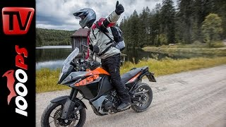 KTM 1050 Adventure Test - Enduro Offroad Vergleich 2016 beim MoHo Drei Hacken
