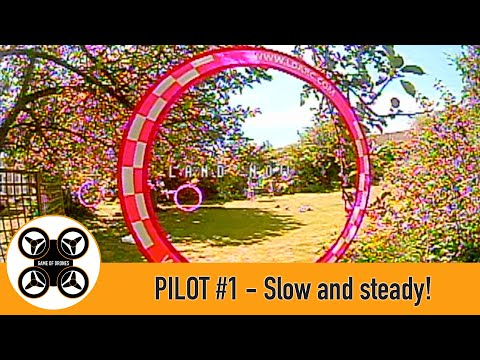 Фото Game of Drones - Pilot #1 Slow and steady FPV drone flying